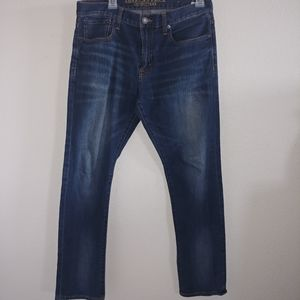 American eagle outfitters dark wash slim fit jeans